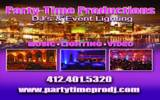 Party-Time Productions Dj's-Pittsburgh DJs