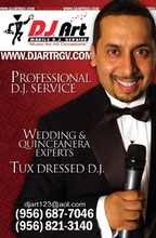 DJ Art - Mobile DJ Service - Wedding DJ-Mercedes DJs