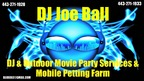 DJ Joe -Charlotte Hall DJs