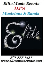 ELITE MUSIC EVENTS * WEDDINGS, HOLIDAYS, BIRTHDAYS, CORP -Loxahatchee DJs