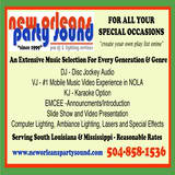 NEW ORLEANS PARTY SOUND-Donaldsonville DJs