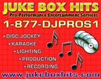 JUKE BOX HITS Entertainment Services-Mcclure DJs
