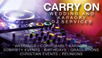 Carry On Wedding and Karaoke DJ Service-Blue Ridge DJs