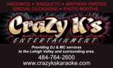 Crazy k's Entertainment & Photo Booth Services-Saylorsburg DJs