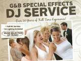 G&B: Special Effects DJ Service-Barre DJs