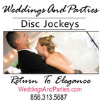 WeddingsAndParties DJ's/MC's & Uplighting-Washington Crossing DJs